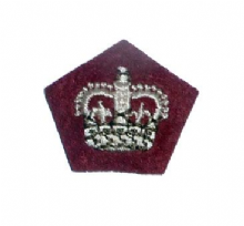 Officers Rank Crowns